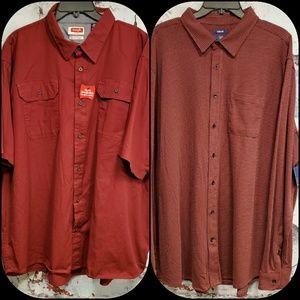 Bundle (2) NWT Men's Dress Size 3XL